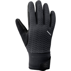 Shimano Windbreak Thermal Reflective Gloves Men black